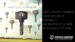Watch Vertical Horizon You Never Let Me Down video
