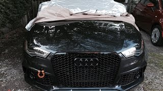 How to Remove or Replace Audi Front Emblem (without removing bumper)