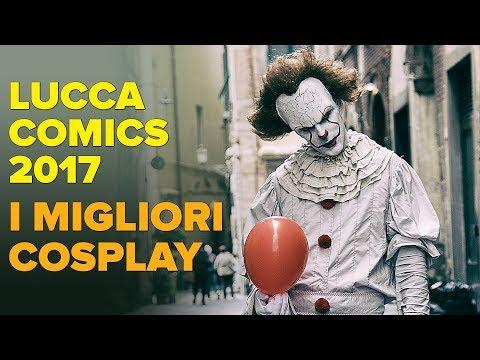 I migliori COSPLAY di LUCCA Comics 2017