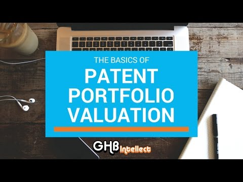 Patent Portfolio Valuation Fundamentals