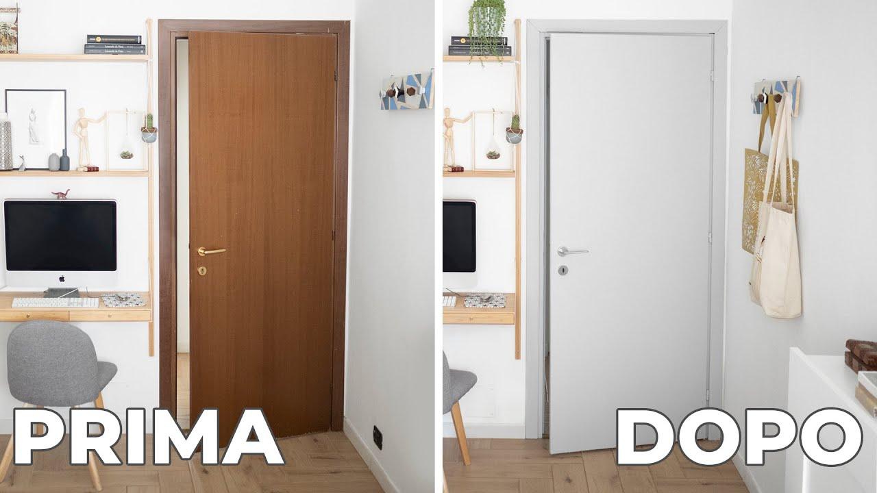 Porte Interne Shabby Chic come verniciare una porta in legno