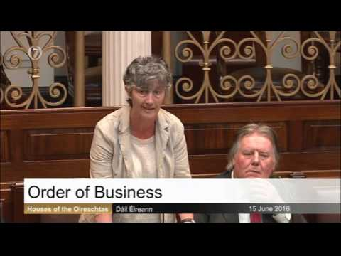 Catherine Connolly: Order of Business MI and Foreshore Licence 15 06 16