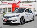 2016 Honda Accord Touring Sedan - Harmony Honda - White - U5608 - Kelowna, BC