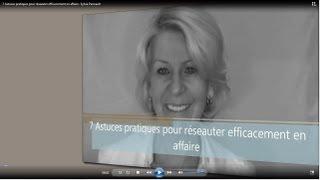 7 Astuces pratiques pour réseauter efficacement en affaire - Sylvia Perreault
