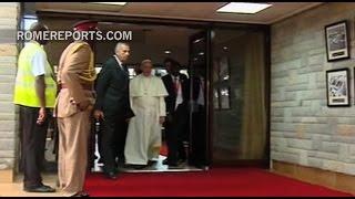El Papa Francisco llega a Kenia con adelanto