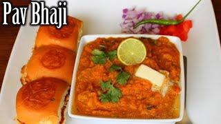 #PavBhaji Pav Bhaji Recipe   Easy Mumbai Street Style Pav Bhaji   Pav Bhaji Recipe in Telugu  