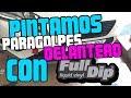 PINTAMOS PARAGOLPES SEAT LEON CON FULLDIP | Fuera dSerie