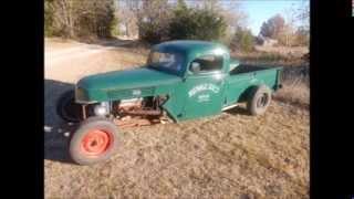2015-11-07 Bell Rat Rod, Vintage Car & Truck Auction (lot 52 - 1940 Ford Pick Up)