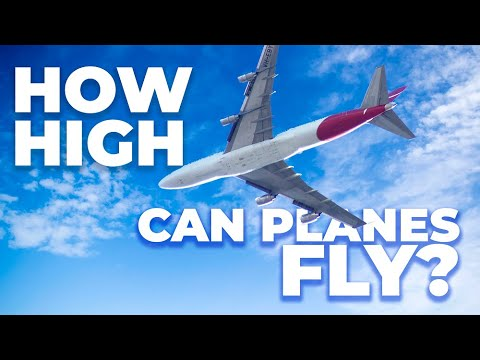 How High Can Commercial Passenger Planes Fly?
