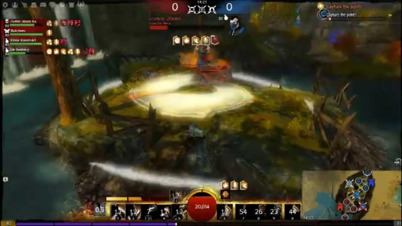 Guild Wars 2 Warrior Greatsword/Hammer PvP Brutal Burst DPS build