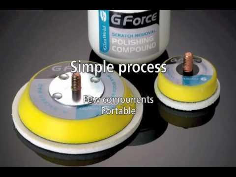 Glass Scratch Removal Kit   Gforce System   GlasWeld   YouTube