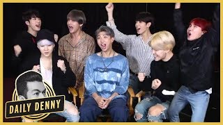 BTS on World Tour Plans, J-Hope's Mix Tape & Possibility of Recording an English Album | Daily Denny