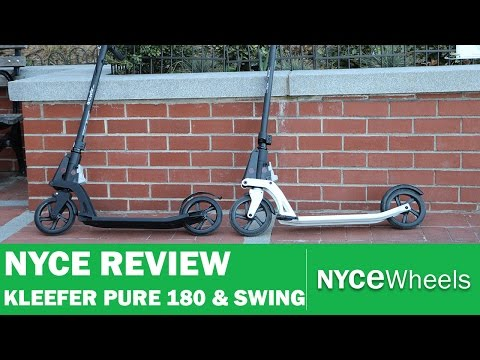 Kleefer Pure 180 And Swing Kick Scooter Review