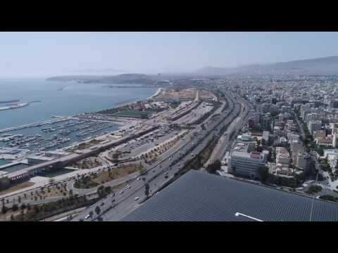 Finding  Athens, Greece - Stavros Niarchos Foundation Cultural Center-Sailing Complex