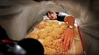 One of Alex French Guy Cooking's most viewed videos: My Instant Ramen Noodle MASS-PRODUCTION