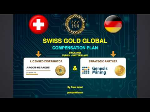 Swiss Gold Global - Compensation Plan Table