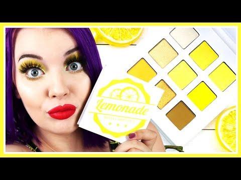 Midas Cosmetics Lemonade Palette Review + Swatches thumbnail