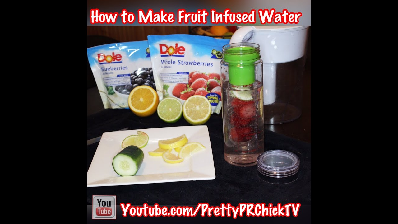 Water Bottle You Put Fruit In: Recipes For Your Fruit Infuser Water Bottle
