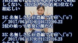 【乃木坂46】正統派美少女 佐々木琴子が話題に『女性アイドル顔だけ総選...