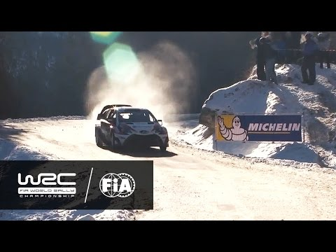 WRC - Rallye Monte-Carlo 2017: HIGHLIGHTS Stages 3-5