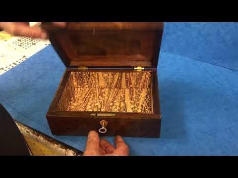 Antique Georgian Jewellery box, c.1810