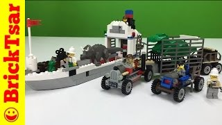 LEGO Adventurers Dino Island 5975 T Rex Transport Dinosaurs! From 2000