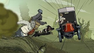 Valiant Hearts: The Great War - All taxi driving sequences