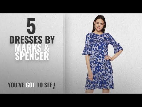 Top 10 Marks & Spencer Dresses [2018]: Marks & Spencer Women's Shift Knee-Long Dress