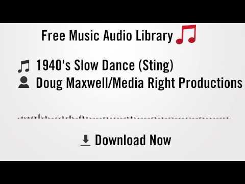 1940's Slow Dance (Sting) - Doug Maxwell/Media Right