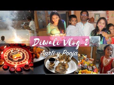 AÑO NUEVO HINDU - DIWALI VLOG 2 - Que y Como se hace la Pooja? - Vvivir en la India Vlogs