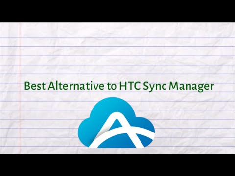 Free Alternative to HTC Sync Manager