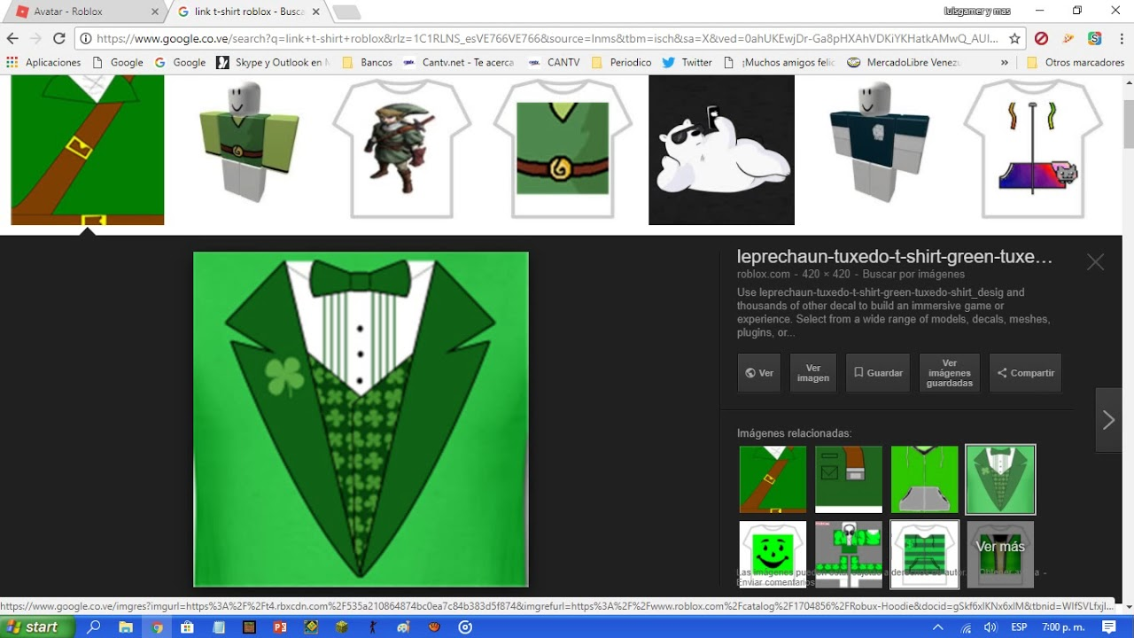 Como Tener T Shirt En Google Y En Roblox Youtube