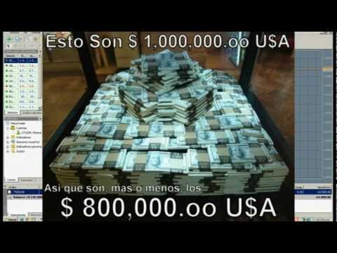 """COMO GANE $826,000 USA"" en ""QUE ES FOREX"" Probado EN VIDEO - FREE TV Download Forex que es HD Book"