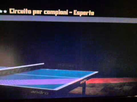 Rockstar Table Tennis - Mark Humiliated by Juergen (Expert)