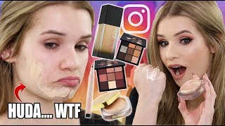 Testing NEW VIRAL INSTAGRAM Makeup! What