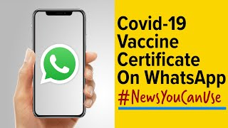 How to download Covid-19 vaccination certificate using WhatsApp screenshot 3
