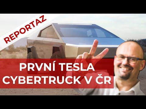 První Cybertruck v ČR! (srandička)
