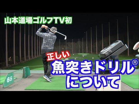 【お待たせ!!】山本道場ゴルフTV初!これが魚突きドリルの詳細だ👍①
