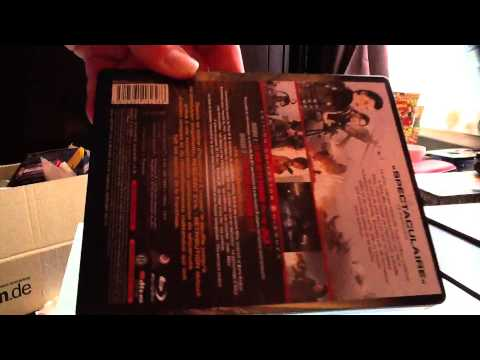 unboxing Resident Evil Retribution 3D French Steelbook poster