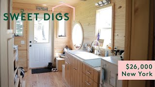 I Paid $26,000 For This Tiny Home | Sweet Digs | Refinery29