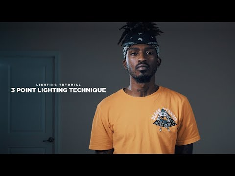 1 Hollywood Lighting Technique You NEED to know! (3 Point Lighting Tutorial With Cotton Films)