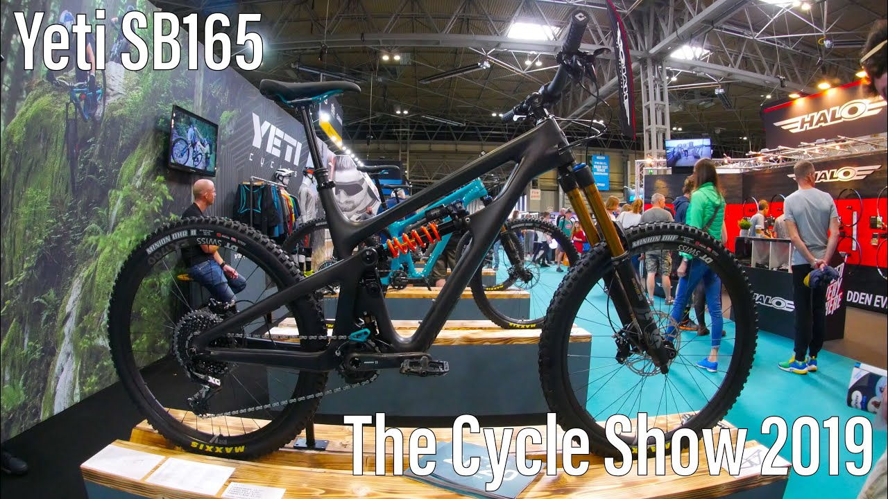 Yeti SB165 - The Cycle Show 2019