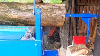 Home Made Firewood Processor