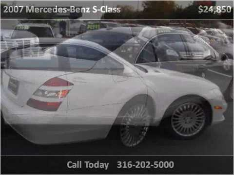 2007 Mercedes Benz S Class Used Cars Wichita Ks Youtube