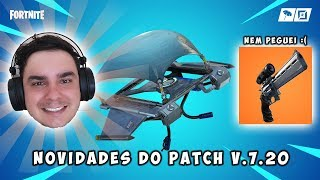 WHAT'S NEW IN PATCH V. 7.20 FORTNITE-reinstallation of hang gliding, WEAPONS and ITEMS, Silveta