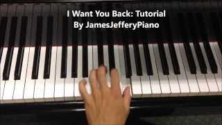 vuclip PIANO TUTORIAL ♫ 'I Want You Back' By 'The Jackson 5' ♫ **Sheet Music**