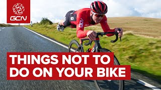 Things NOT To Do While Cycling | Bad Behaviour On The Bike