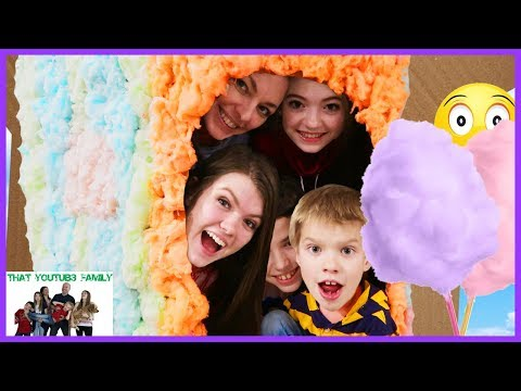 Cotton Candy Box Fort / That YouTub3 Family