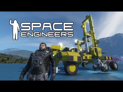 Space Engineers - Building a Planet Based Mining Vehicle