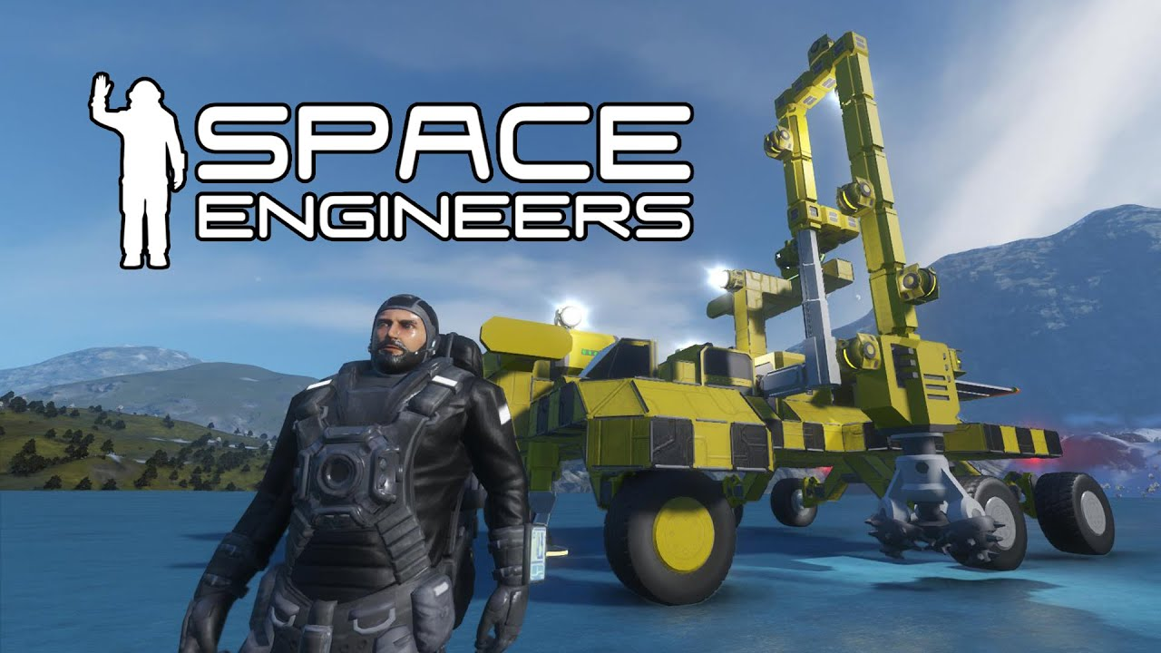 space engineers building a planet based mining vehicle. Black Bedroom Furniture Sets. Home Design Ideas